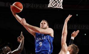 Tóquio2020: Itália vence Alemanha no basquetebol com 'grande' quarto parcial