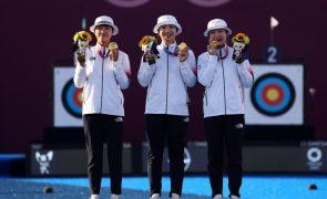 Tóquio2020: Equipa feminina sul-coreana de arqueiras continua 'dona' do torneio