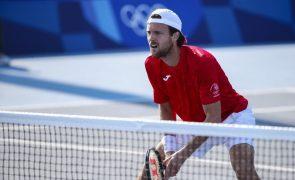 Tóquio2020: João Sousa eliminado na primeira ronda pelo checo Tomas Machac