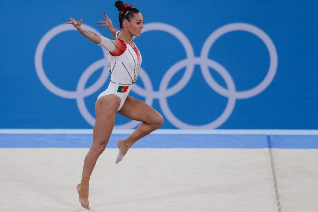 Tóquio2020: Filipa Martins falha finais na ginástica artística