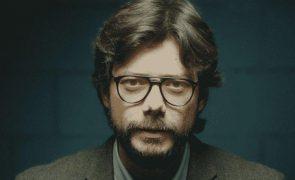 La Casa de Papel Cabelo comprido e cheio de barba: 'Professor' surge irreconhecível!