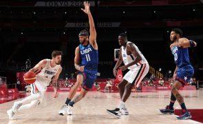 Tóquio2020: Estados Unidos derrotados pela França em basquetebol