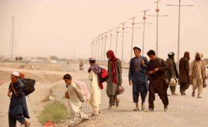 Cerca de 22 mil famílias fugiram dos subúrbios de Kandahar após ofensiva talibã