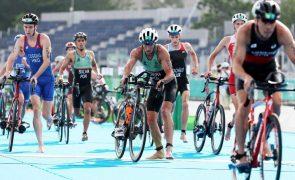 Tóquio2020: João Silva 23.º e João Pereira 27.º na prova de triatlo