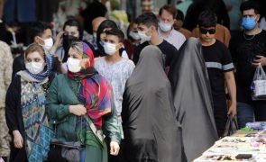 Covid-19: Irão regista nova máximo de infeções em 24 horas