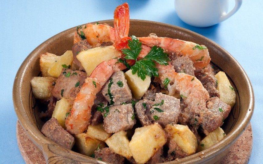 Carne de porco a pescador O sabor da boa mesa!