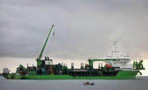 Governo contratualiza 4,1 ME em dragagens em quatro portos do norte até 2023