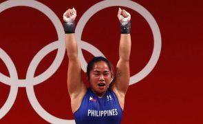 Tóquio2020: Hidilyn Diaz dá primeira medalha de ouro de sempre às Filipinas