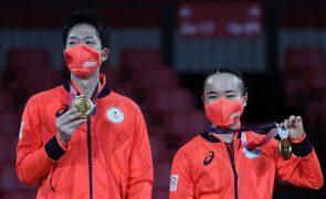 Tóquio2020: Japão quebra hegemonia chinesa e conquista primeiro ouro no ténis de mesa