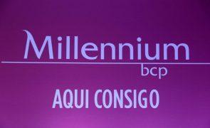 Lucros do BCP caem 84% para 12,3 ME no 1.º semestre