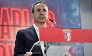 António Salvador reeleito na SAD do Sporting de Braga por unanimidade