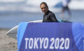 Tóquio2020: Yolanda Sequeira quinta no surf ao cair nos quartos de final