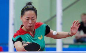 Tóquio2020: Fu Yu eliminada na terceira ronda do ténis de mesa