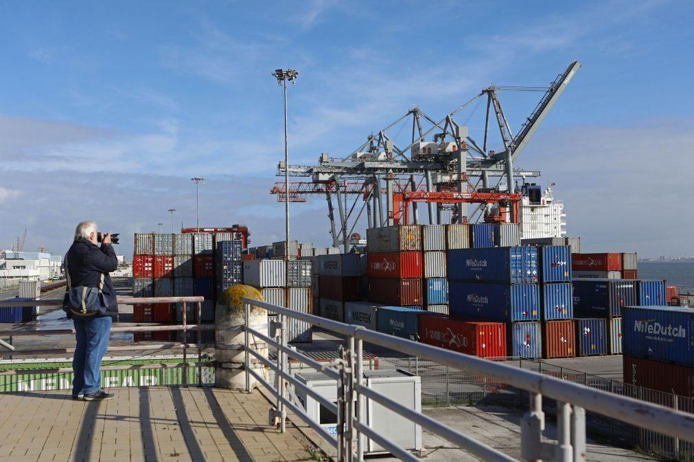 Exportações e importações de bens sobem 49,1% e 46,3% no 2.º trimestre