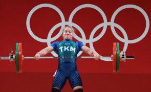 Tóquio2020: Turquemenistão conquista primeira medalha de sempre em JO