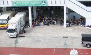 Covid-19: Hospitais de Banguecoque lotados devido a forte surto da doença