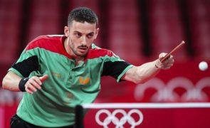 Tóquio2020: Marcos Freitas cai ante líder mundial e termina em nono no ténis de mesa