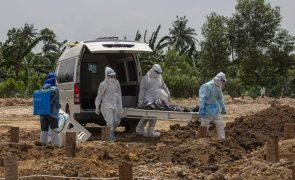 Covid-19: Pandemia matou pelo menos 4,17 milhões de pessoas em todo o mundo