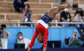 Tóquio2020: Simone Biles deixa competição da final por equipas por