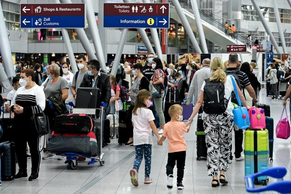Covid-19: Alemanha exige a partir de hoje quarentena a viajantes de Espanha não-vacinados