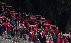 Supertaça entre Sporting e Sporting de Braga terá 33% da lotação