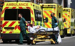 Covid-19: Reino Unido com maior número de mortes desde março
