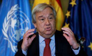 António Guterres saúda retoma das comunicações entre as duas Coreias