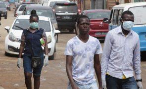 Covid-19: Angola soma mais de 230 novos casos, três óbitos e 56 recuperações
