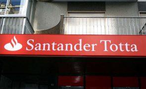 Lucros do Santander em Portugal caíram 52,9% para 81,4 milhões no 1.º semestre