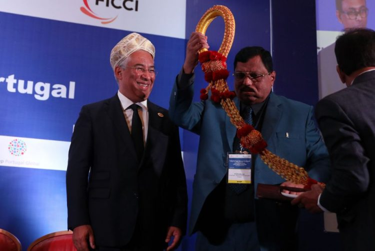 PM/Índia: António Costa distinguido como membro de honra da diáspora indiana