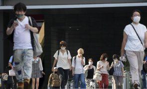 Covid-19: Cidade de Tóquio regista novo máximo de infeções