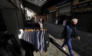 Consumo das famílias cai na zona euro no 1.º trimestre enquanto rendimento sobe