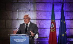 Costa pressiona acordo na concertação social para valorização salarial