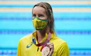 Tóquio2020: Australiana Emma McKeon bate recorde olímpico dos 100 metros livres