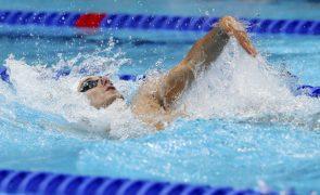 Tóquio2020: Nadador Francisco Santos falha meias-finais nos 200 metros costas