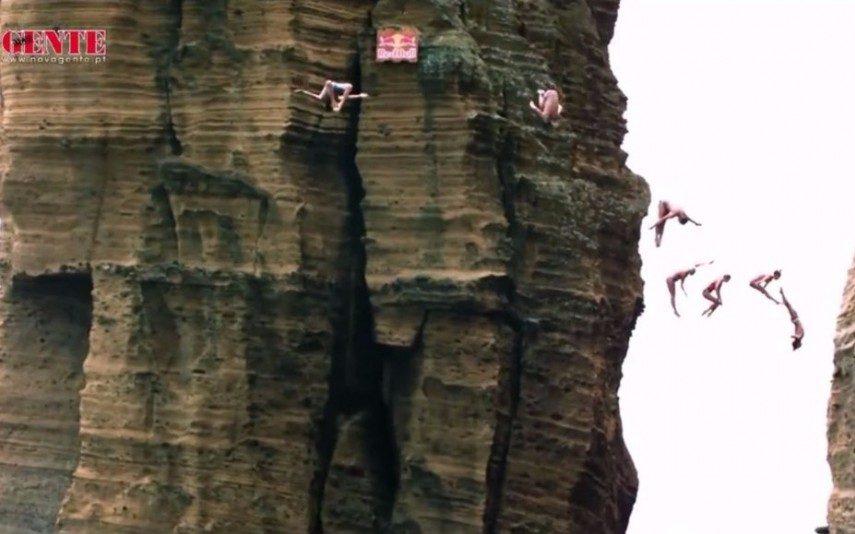 Açores Paraíso dos saltos radicais (vídeo)