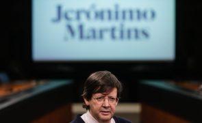 Lucro da Jerónimo Martins sobe quase 79% para 186 ME até junho