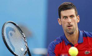 Tóquio2020: A pressão é um privilégio e sem ela não pode existir desporto profissional - Djokovic