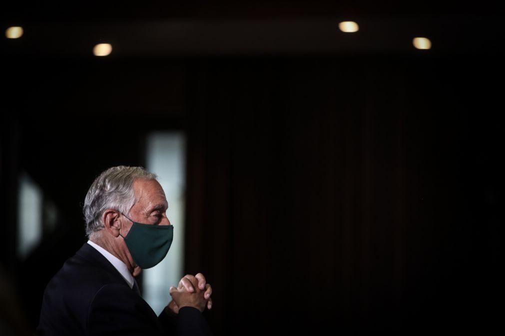Covid-19: Marcelo espera do Governo discurso de transição para o pós-pandemia