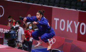 Tóquio2020: Judoca Patrícia Sampaio perde na segunda ronda com campeã mundial