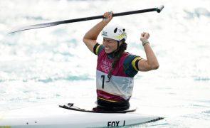 Tóquio2020: Australiana Jessica Fox é a primeira com medalhas em canoa e caiaque