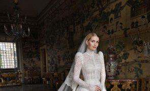 Eis o vestido de noiva de sonho de Kitty Spencer, a sobrinha da princesa Diana
