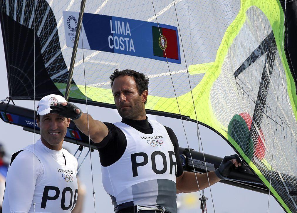 Tóquio2020: Jorge Lima desapontado com desclassificação mas satisfeito com navegação