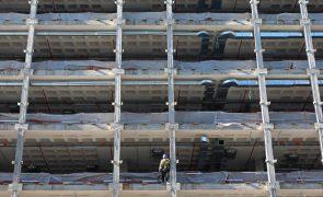 Construção com aumento estimado de 3% no volume de negócios em 2021