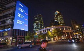 Bolsa de Xangai abre a cair 0,4%