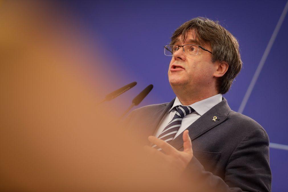 Tribunal de Justiça da UE retira imunidade parlamentar a Carles Puigdemont