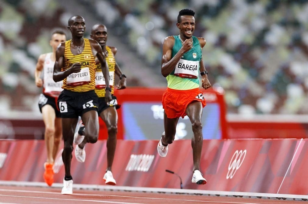 Tóquio2020: Primeiro ouro no atletismo foi para etíope Barega, nos 10.000 metros