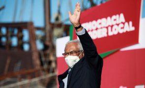 António Costa garante combate à crise sem austeridade