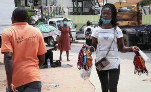 Covid-19: Angola soma cinco mortes e 160 novos casos nas últimas 24 horas