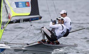 Tóquio2020: Velejadores Jorge Lima e José Costa rumo à 'medal race' em 49er